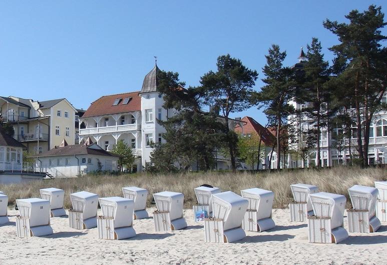 漫步斯特朗德飯店, 賓茨, 海灘