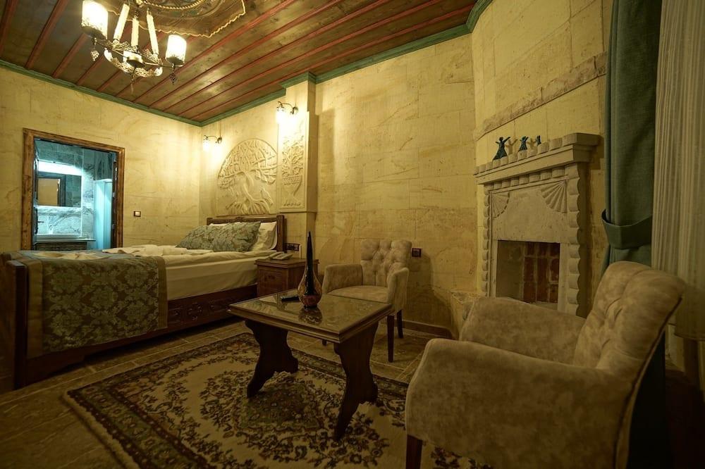 Pagerinto tipo kambarys - Svetainės zona