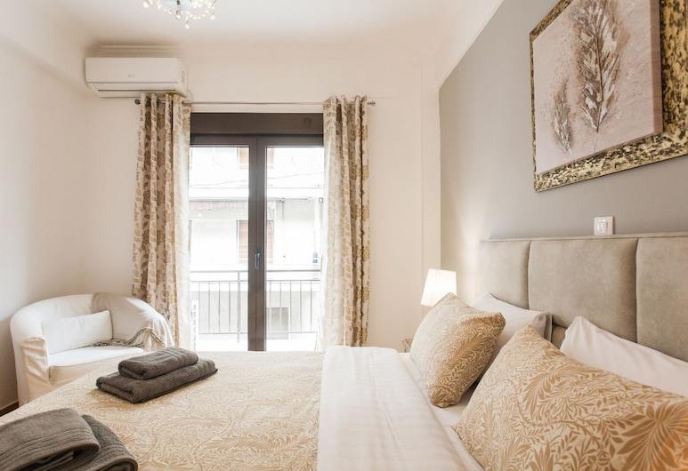Nicholas Point Apartments and Rooms, Atėnai, Apartamentai, 1 miegamasis, balkonas (Bright and Spacy), Kambarys