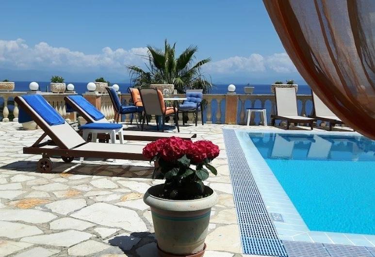 奧尼羅別墅酒店, 科孚島, 室外泳池