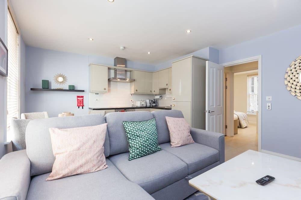Апартаменти «Делюкс», 1 спальня - Номер
