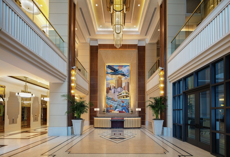 The Higgins Hotel New Orleans, Curio Collection by Hilton, New Orleans, Lobi
