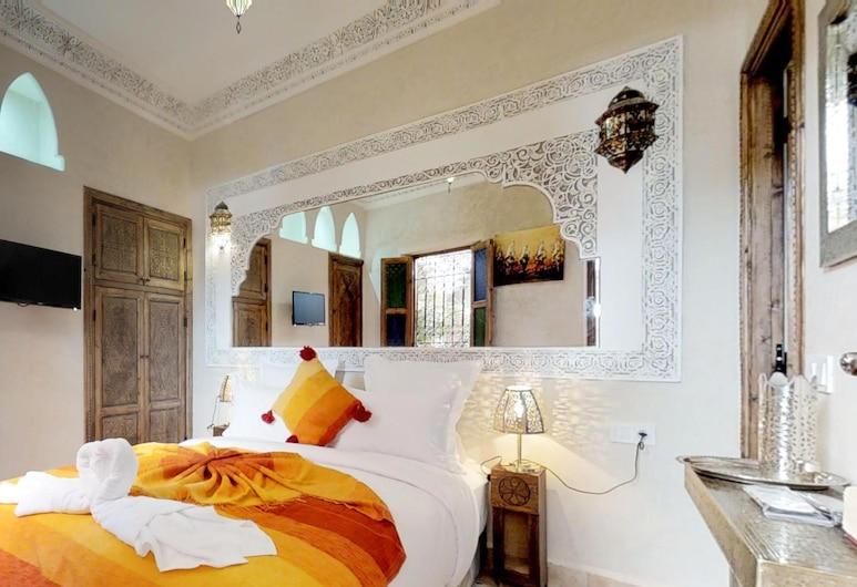 阿巴卡庭院 - 蓋哈里別館酒店, 馬拉喀什, 經濟客房, 1 張標準雙人床, 庭園景 (Safran 1), 客房