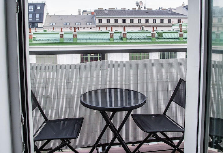 Flarent Vienna Apartments, Viena, Apartamentai (Top 13a), Balkonas