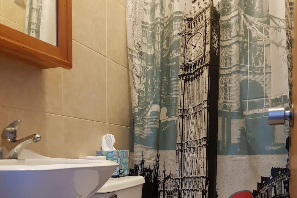 Superior - kahden hengen huone, Oma kylpyhuone, Näköala puutarhaan - Kylpyhuone