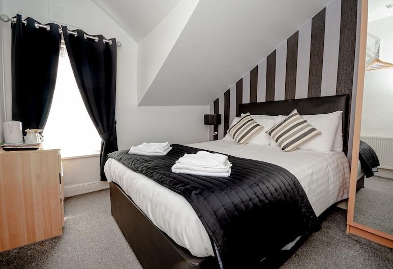 Jesmond Dene Hotel, Blackpool, Dubbelrum (Room 7), Gästrum