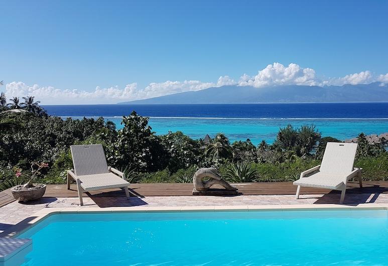 Villa Ora, Moorea-Maiao, Svømmebasseng