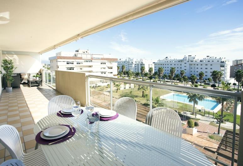 Family Beach & Comfort, Torremolinos, Appartement, 2 slaapkamers, Terras
