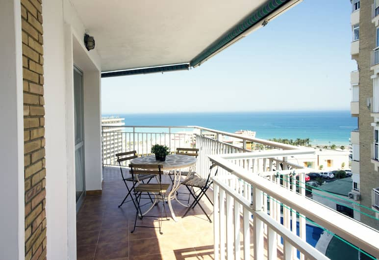 Center Incredible Views & Relax, Torremolinos, Appartement, 2 slaapkamers, Terras
