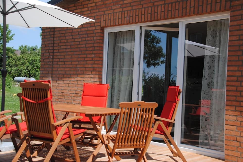 Family House, 2 Bedrooms, Garden View (Meeresbrise, Cleaning Fee EUR 50,00) - Balcony