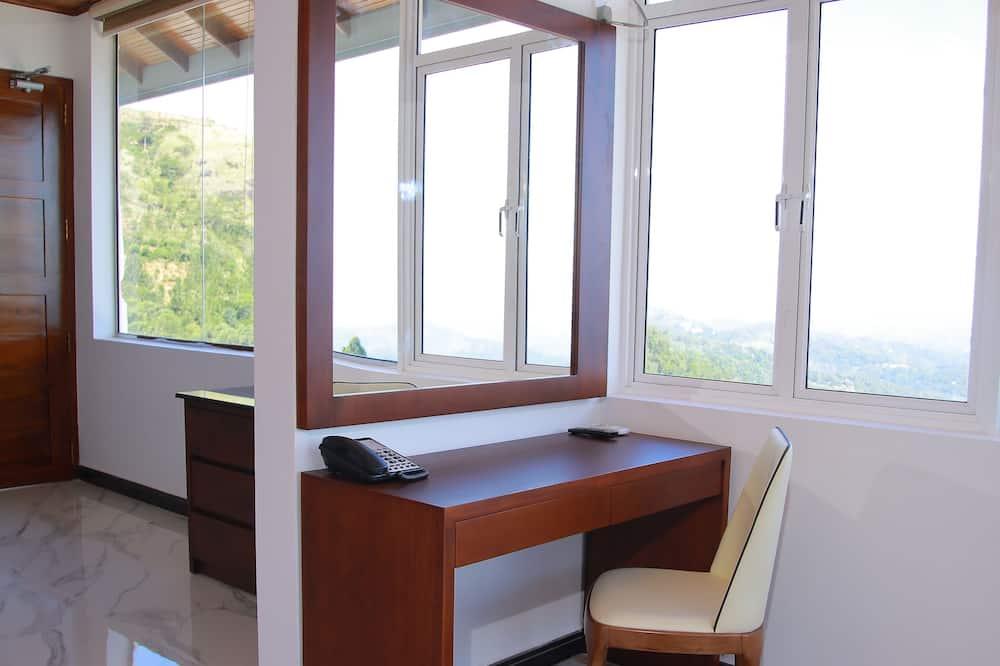 Suite, Bergblick - Wohnzimmer