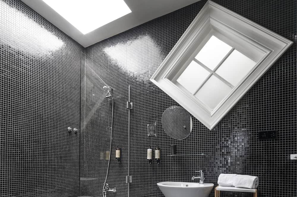 家庭客房 - 浴室