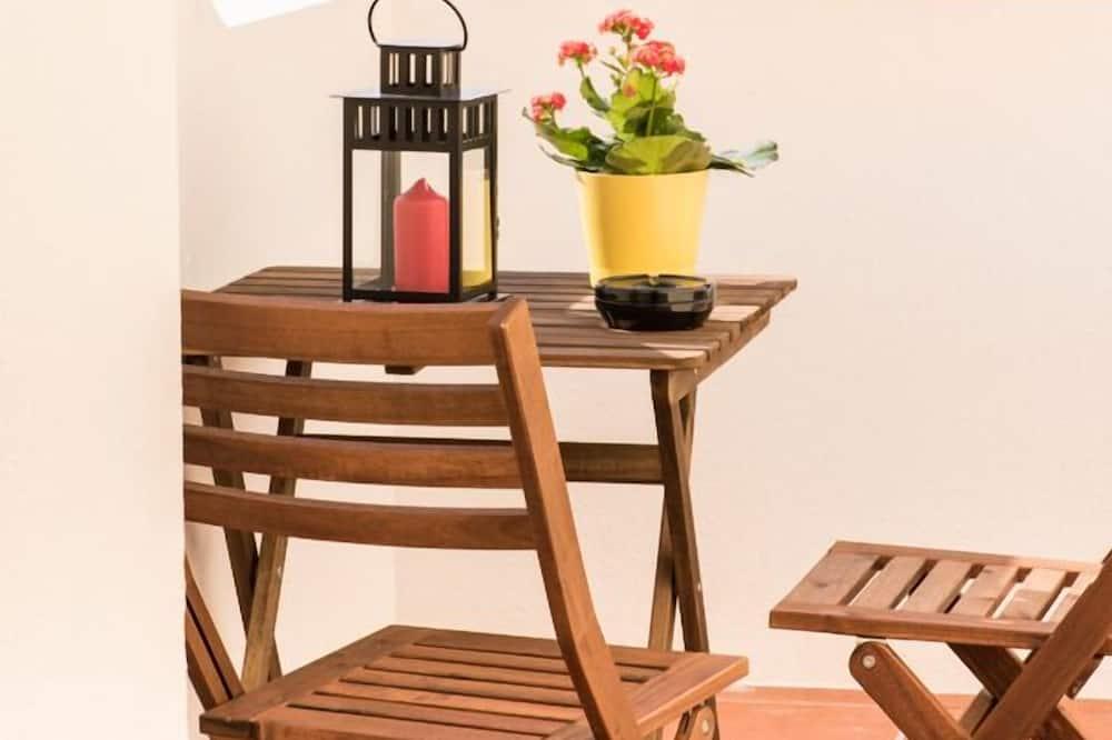 標準雙人房, 露台 - 露台