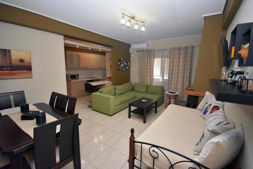Departamento urbano, 3 habitaciones (A1) - Sala de estar