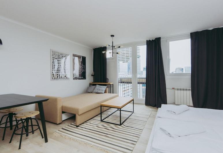 ShortStayPoland Pereca (B68), Varsovie, Appartement Confort, vue ville, Chambre