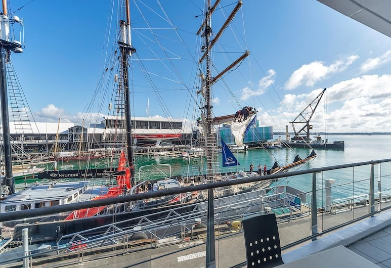 QV Attractive Princes Wharf West Apt - 423, Auckland, Lejlighed (Private Serviced Aparment), Altan