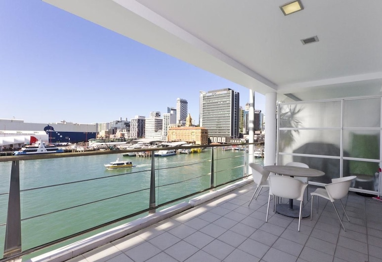 QV Waterfront & Urban Apartment - 494, Auckland, Apartment (Private Serviced Aparment), Balcony