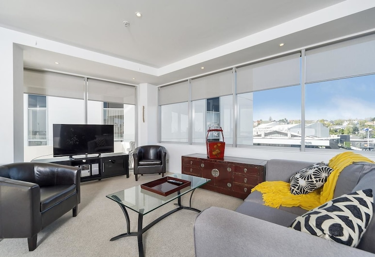QV Auckland Resort in the city - 564, Auckland, Apartment (Private Serviced Aparment), Living Room