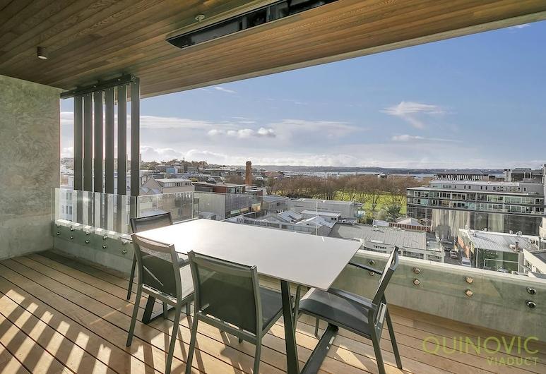 QV Luxury Victoria Park Apartment - 813, Auckland, Apartment (Private Serviced Aparment), Balcony