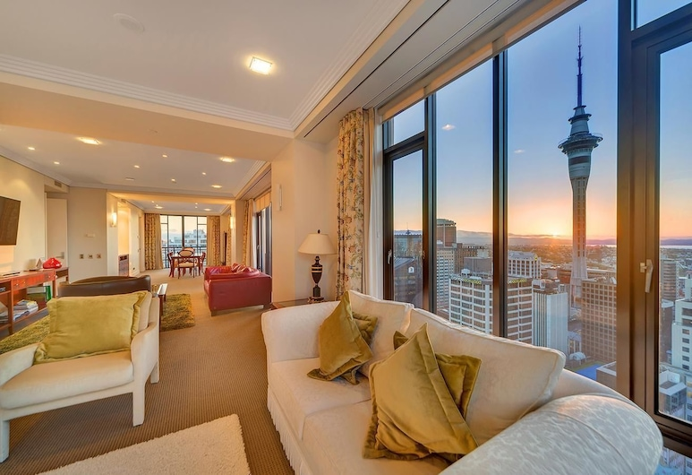 QV Stunning Views Metropolis - 466, אוקלנד, דירה (Private Serviced Aparment), אזור מגורים