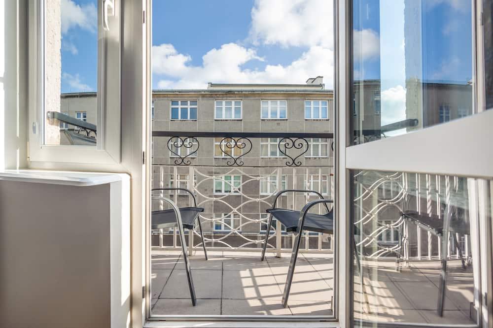 Apartament (5 – Abrahama 20) - Balkon
