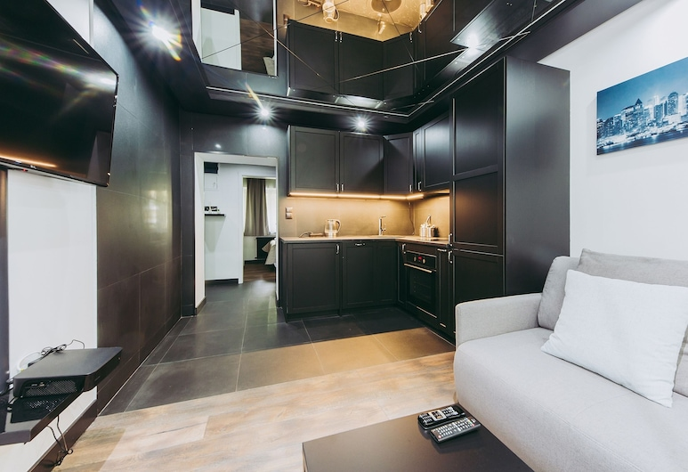ShortStayPoland Nowolipie (B70), Warszawa, Exklusiv lägenhet, Rum