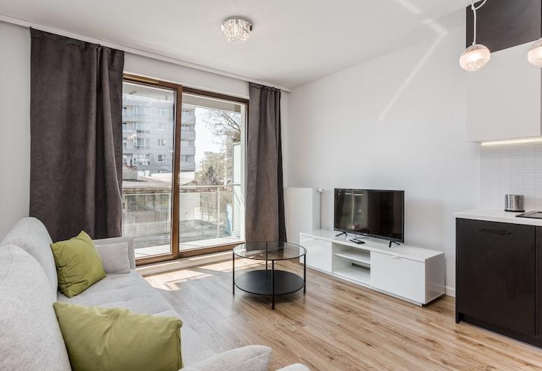 Chill Apartments Wola Center, Varsova, Deluxe-huoneisto, Huone