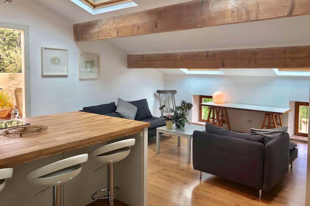 Leilighet – family, flere senger, utsikt mot vingård - Obývací prostor