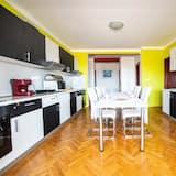 Apartamento Comfort, várias camas - Cozinha partilhada