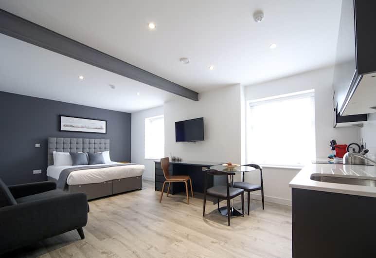 CityStop Apartments Newington, Liverpool, Studio Apartment - Sleeps 2, Room