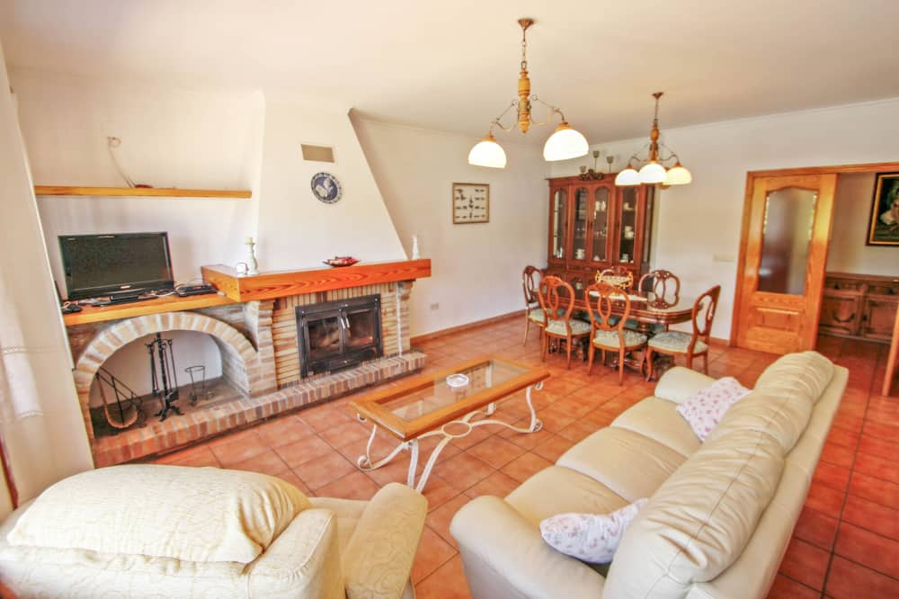 Villa, 3 slaapkamers, privézwembad - Woonkamer