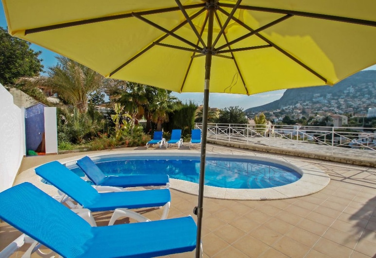 Canuta Mar 14- two story holiday home villa in Calpe, Calpe, Villa, 3 Bedrooms, Private Pool, Private pool