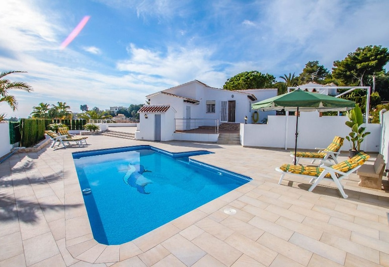 Marcelo - charming, Spanish finca style holiday villa in Moraira, Teulada