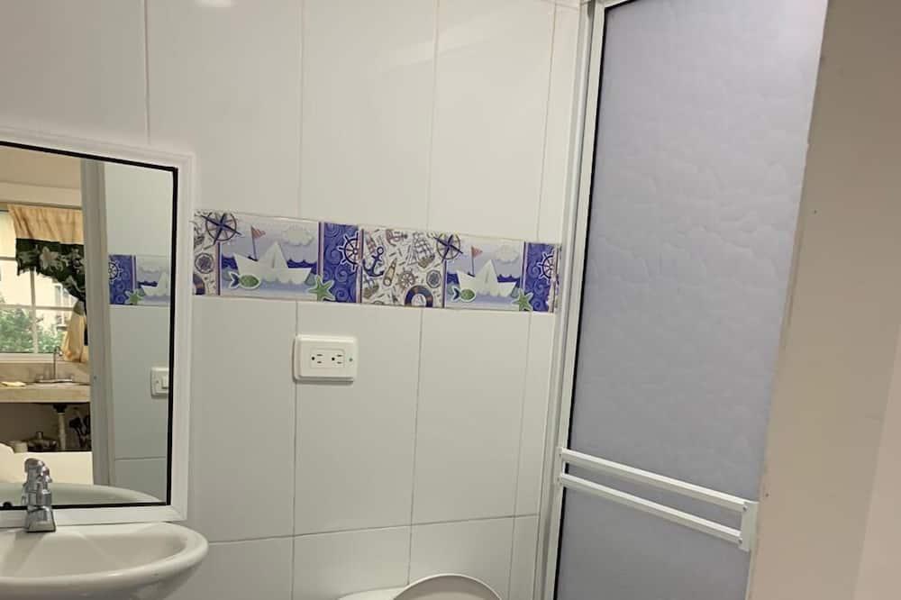 Quarto Duplo, 1 cama de casal, Não-fumadores - Casa de banho