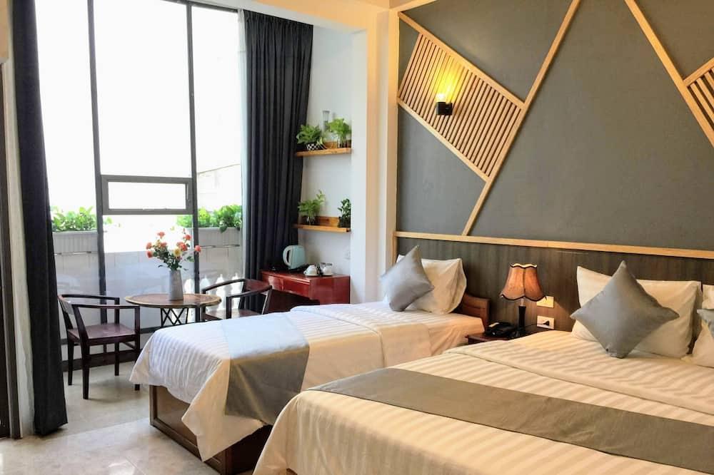 Deluxe-Dreibettzimmer, Stadtblick - Ausblick vom Zimmer