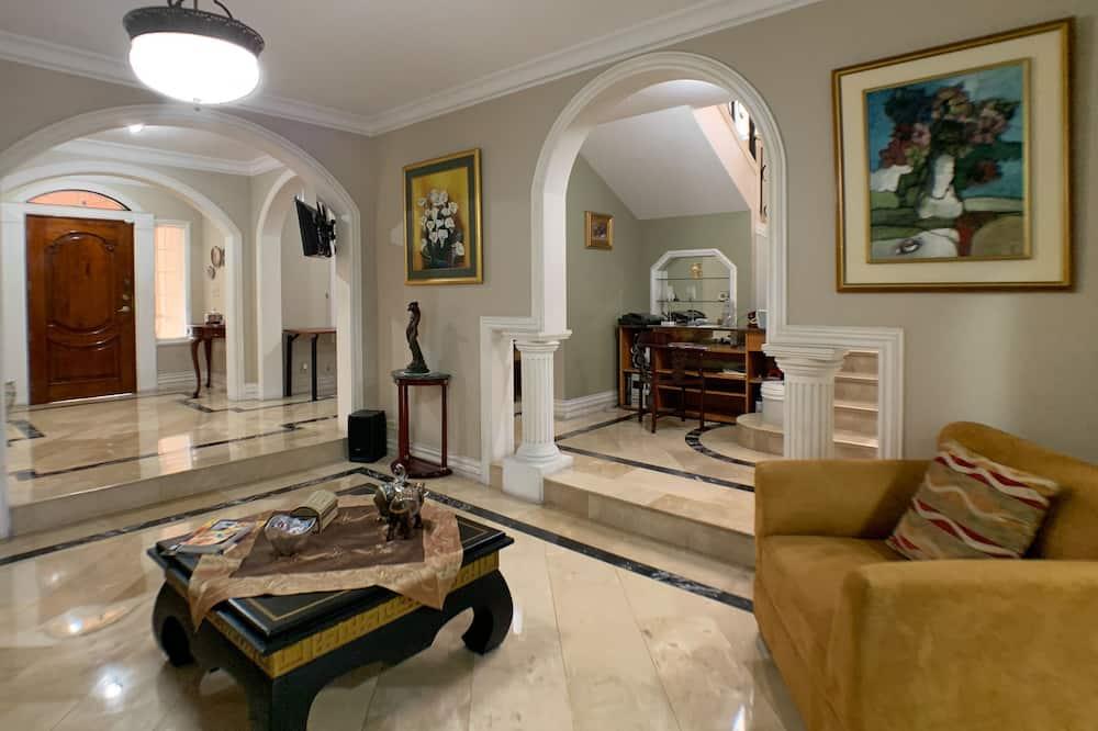 Villa Business, 4 camere da letto, accesso al business lounge - Area soggiorno