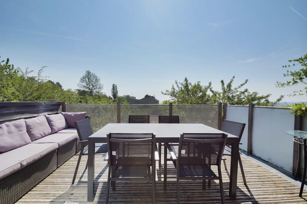 Luxury Apartment, Private Bathroom, City View (Duplex) - Balcony View