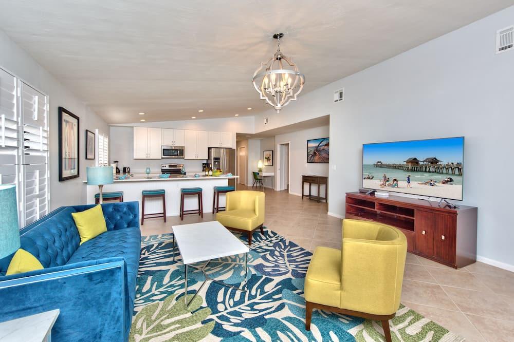 Condo, Multiple Beds - Living Area