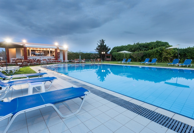 Alonia Hotel Apartments, Platanias, Piscina