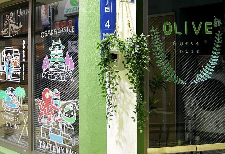 OLIVE, 大阪市, 施設の入り口