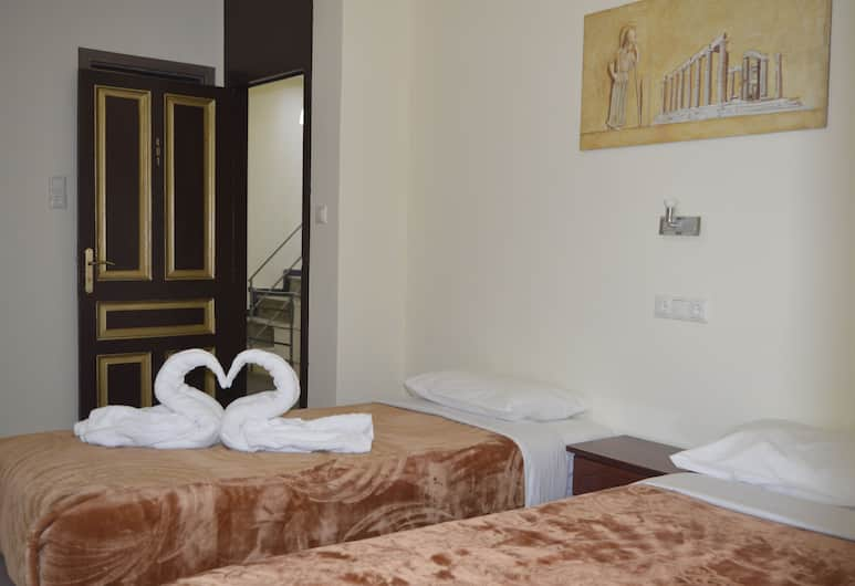 Apollonion, Athens, Triple Room, Balcony, Guest Room
