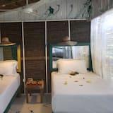 חדר בייסיק זוגי, 2 מיטות זוגיות, נוף לגן - חדר