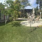 Studio typu Classic, dvojlůžko (180 cm), výhled do zahrady - Výhled do zahrady