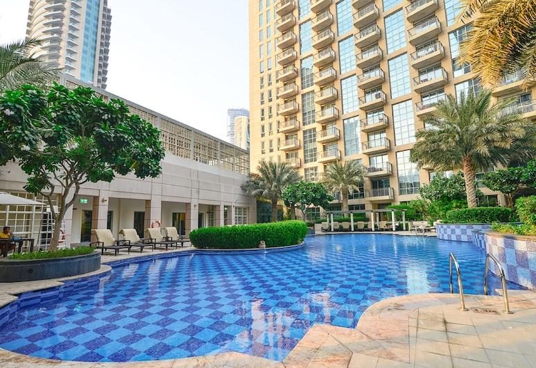 Arena Two Bedroom Apart - Ease By Emaar, Dubajus, Lauko baseinas