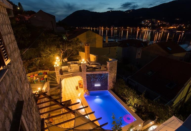 Villa Anita private heated pool, Dubrovnik, Terraço/pátio