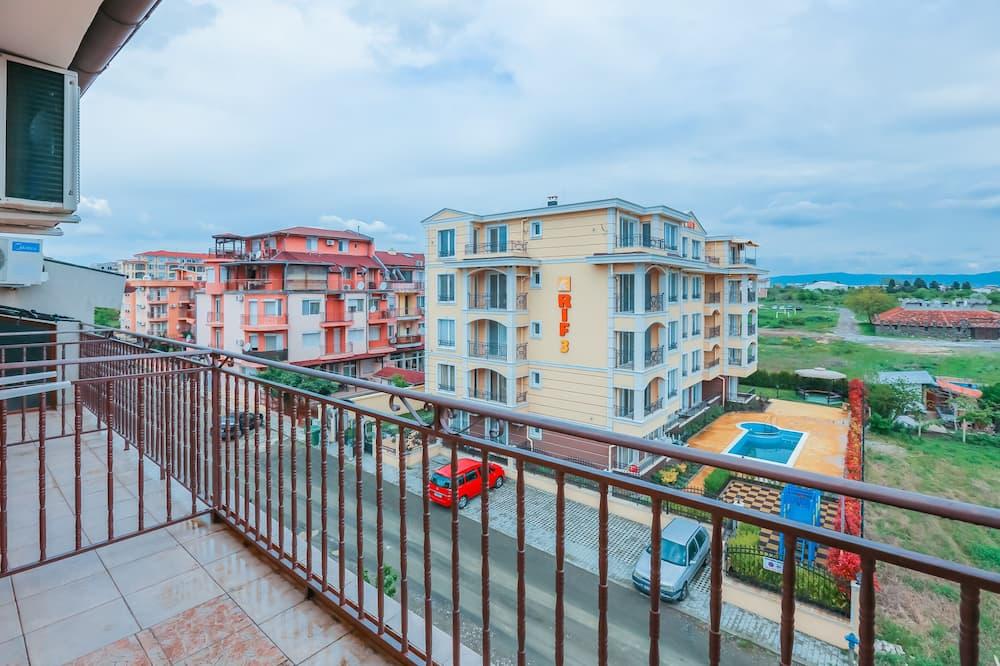 Komforta dzīvokļnumurs, vairākas gultas (GE) - Balkons