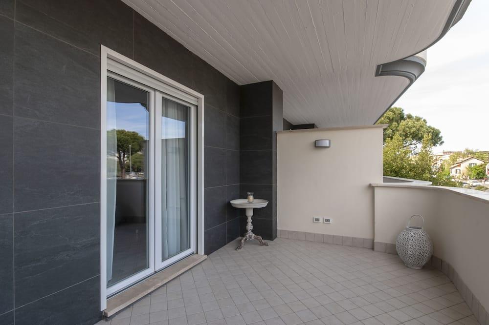 Deluxe appartement, 2 slaapkamers (2 Suite Luxury private bathrooms) - Balkon