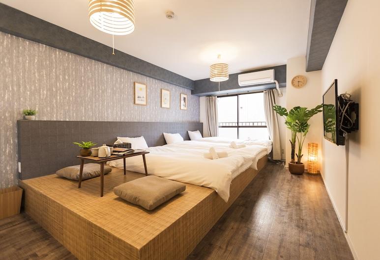 島之内阿蒙特雷酒店, 大阪, 三人房 (Japanese Style), 客房