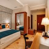 普通套房, 1 張特大雙人床, 陽台, 河景 - 客廳