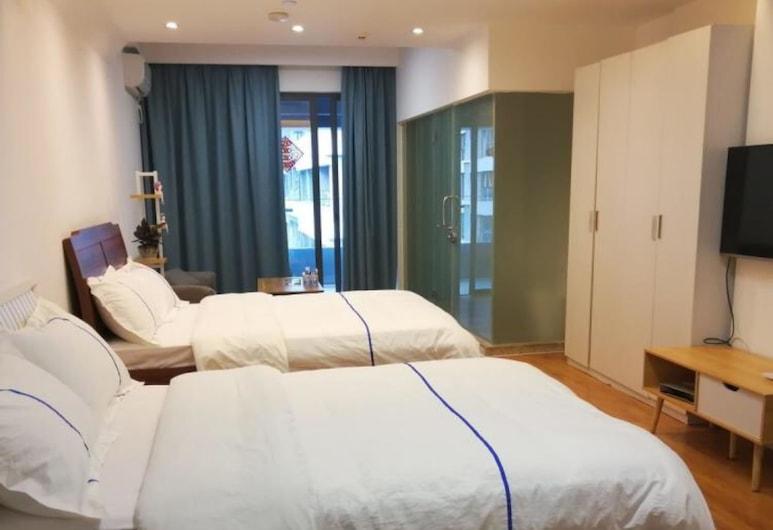 Shenzhen Yiwan Service Apartment, Shenzhen, Standard Twin Room, Room